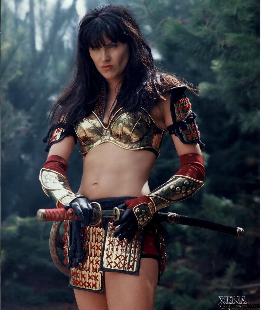 Xena: warrior princess topless erotica image