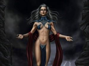 ShadowLight Warrior-Goddess
