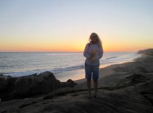 Michelle in Malibu